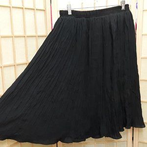 GOTHIC TWIRL BLACK SKIRT LADIES SMALL